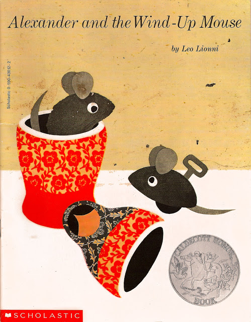 Alexander and the Wind Up Mouse cover